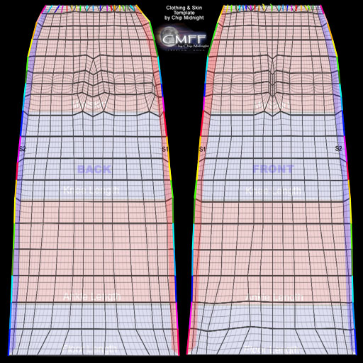 Templates For Second Life Clothing | Anju Miah
