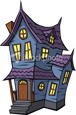 Stock illustration 7259436 cartoon haunted house anju miah - Cartoon haunted house pics ...