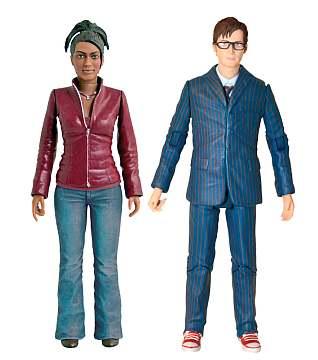 Doctor Who Season 3 figures Martha Jones Doctor with Glasses