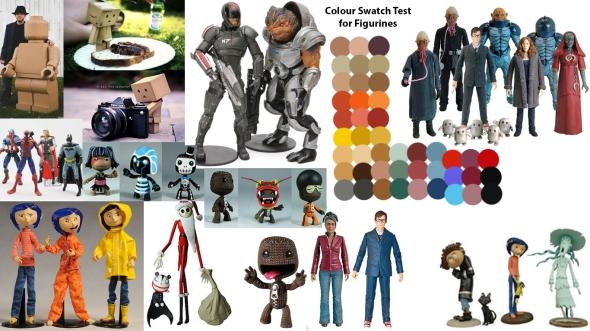 Moodboard - Figurines
