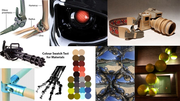 Moodboard - Materials Swatch